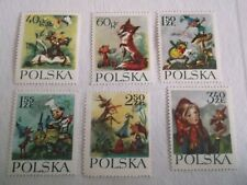 1962 Poland Maria Konopnicnna's Fairy Tales u/m Mi.1351/6. T62