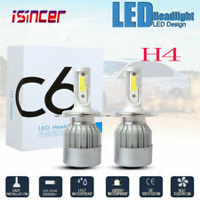 New listing Pair H4 Hb2 9003 20000Lm 100W Led Headlight Kit Hi/Lo Beam Bulbs 6000K White