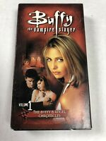Buffy the Vampire Slayer and Angel Chronicles VHS  Volumes 1-3 Rare