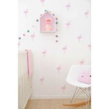 Kids Flamingo Vinyl Wall Stickers