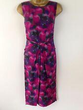 Bastyan By Karen Millen Pink Wiggle Pencil Cocktail Evening Dress UK Size 10