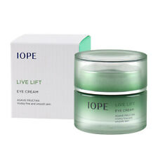 IOPE Agave Fructan Live Lift Moisturizing Wrinkle Lifting Firming Eye Cream 25ml