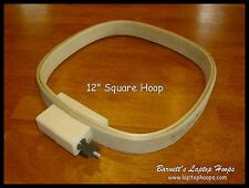 "Barnett's 12"" wide x 1.25 "" deep Custom Square Quilt Hoop  - Hand Quilters Dream"
