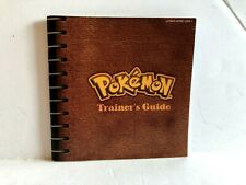 Pokemon Yellow Game Boy Color Instruction MANUAL ONLY Authentic VERY NICE