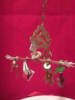 Christmas Ornament FANCIFUL FLIGHTS Teacher SILVESTRI BY KAREN ROSSI 2000 Metal