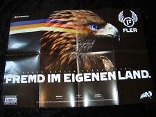 FLER FREMD IM EIGENEN LAND AGGRO BERLIN POSTER PLAKAT NEU FLIZZY ADLER 84x60cm