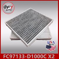 FC31380C(CARBON)(X2PCS) PREMIUM CABIN AIR FILTER for 2016-2017 TUCSON