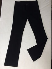SUPERB J BRAND SHADOW BLACK CLASSIC STRETCH STRAIGHT JEANS SIZE 27 L30 RRP 235£