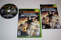 Star Wars Battlefront Microsoft Xbox Video Game Complete
