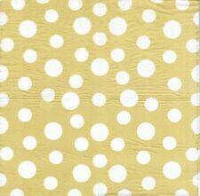 2 Serviettes en papier Decor Gros Pois - Paper Napkins Spot Gold