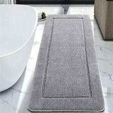 Lochas Luminous Non Slip Bathroom Rugs Runner 24 x 60 Inch Extra Soft and Com.