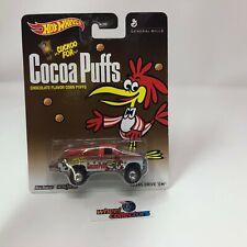 Texas Drive 'Em Cocoa Puffs General Mills * Hot Wheels Pop Culture * WA7
