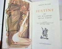 Curiosa. Marquis de Sade. Justine ou les malheurs de la vertu