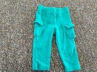 Circo Girls Green Pants with Pockets 18M