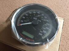 Genuine Harley-Davidson SPEEDOMETER DUAL MPH/KPH calibrated Black 67196-08