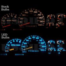 NEW Dash Instrument Cluster Gauge AQUA BLUE LED LIGHT KIT Fit 95-04 Chevy Blazer