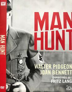 Man Hunt DVD 1941 - Fritz Lang War Drama Black & White - Region 1
