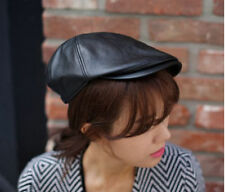 Unbranded Leather Beret Hats for Women