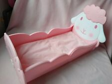Baby Annabell Lamb Rocking Crib / Cot / bed, excellent condition!