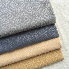58'' Embossed Velour Gold Velvet Upholstery Sofa Fabric Short Plush DIY Material