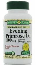 Natures Bounty Evening Primrose Oil 1000 mg Softgels 60 ea