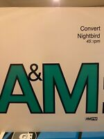 "Convert – Nightbird 12"" Vinyl 1991 Old Skool Hardcore House A&M PM Records"