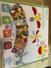120 Pcs Wooden Pattern Blocks Puzzle Box Montessori Kids Toys Shapes Dissection