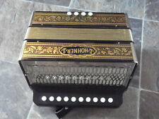 """hohner accordion germany 2 Stop """"G"""""""