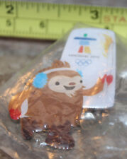 2010 Quatchi Torch Relay Vancouver Winter Olympics Paralympics Pin New