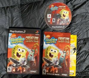 Spongebob Creature from the Krusty Krab - Complete PlayStation 2 PS2 Game