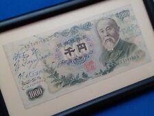 JAPAN 1000 YEN P96D 1963? Bank Note Executive Hand Signed