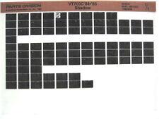 Honda VT700 VT700C Shadow 1984 1985 Parts Catalog Microfiche a382