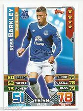 2015 / 2016 EPL Match Attax Base Card (100) Ross BARKLEY Everton
