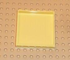 LEGO - Panel 1 x 6 x 5, LIGHT YELLOW x 2 (59349)      P218