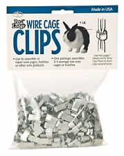 PET LODGE WIRE CAGE CLIPS For Assembling/Repairing Wire Cage Hutches 1lb. Bag