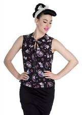 Polyester Animal Print Semi Fitted Blouses for Women