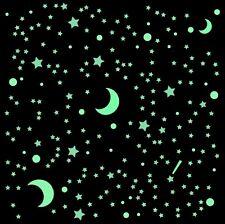 = nachleuchtend © Leuchtsterne ⭐ Wandtattoo Leuchtzahlen 1,2,3,4,5,6,7,8,9,0
