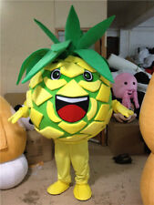 Advertising Adult Pineapple Mascot Costume Suit Party Outfit Cosplay Fruit Dress