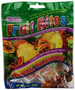 F.M.Brown'S 51227 Extreme Tropical Treasures Small Animal Treats, 3-Ounce
