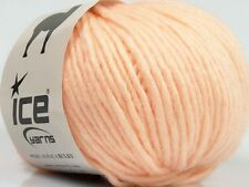 Peru Alpaca Bulky Yarn Light Salmon #48704 Ice 50g Merino Wool Alpaca Acrylic