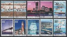Japan Scott # 3121a-h150th Anniversary of Yokohama Port opening
