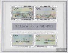 Namibia - Südwestafrika Block1 (kompl.Ausg.) gestempelt 1975 Otto Schröder
