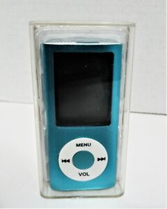 MP4 MP3 Multimedia Player NEW in Box Teal Color