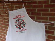 Baking Apron, deer apron, flour sack apron, apron, Petite apron, white apron.