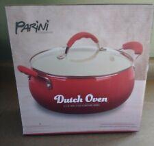 New listing New In Box Parini Dutch Oven 5.5 qt Non-Stick Aluminum Enamel with Lid