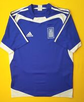 4.9/5 Greece soccer jersey small 2004 2006 home shirt football Adidas ig93