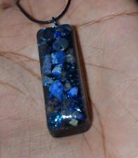 Third Eye Chakra -Orgone Pendant - Quartz, Lapis Lazuli, Sodalite, Iron Oxide