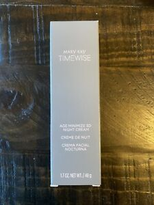 New In Box Mary Kay Timewise Age Minimize 3D Night Cream Combo / Oily!