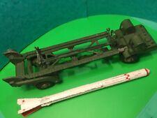 Corgi toys major corporal erector vehicle green rocket firing army truck large