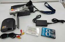 Sony Dcr-Trv720 Digital8 Camcorder - Record Transfer Watch Hi8 Video
